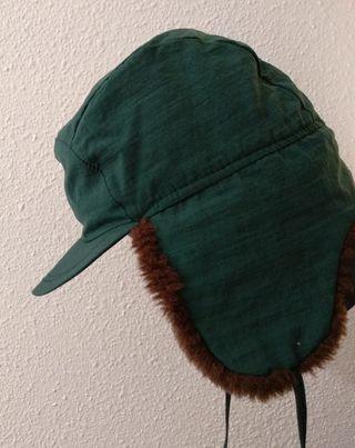 Gorra verde vintage