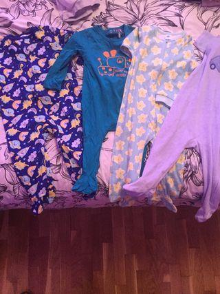 Pack 4 pijamas mono
