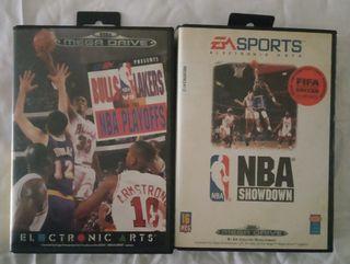 Juegos Sega Mega Drive baloncesto