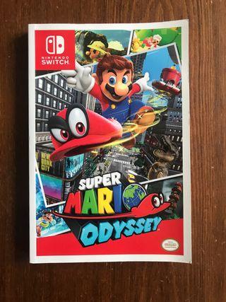 Guía Oficial súper Mario odyssey Nintendo