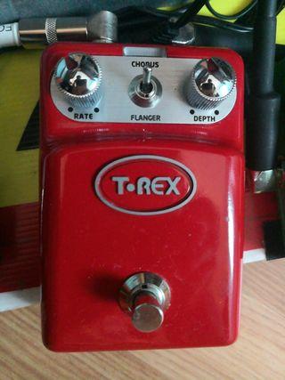 pedal guitarra t-rex chorus/flanger