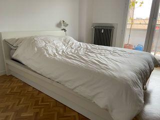 Estructura cama abatible