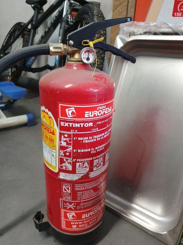 extintores sin usar con carga