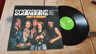 "Scorpions-Vinilo LP ""Hot & Heavy """