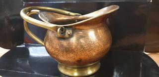 Florero cobre y latón