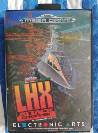 Mega Drive LHX Completo