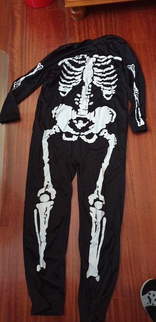 Disfraz esqueleto 8 años