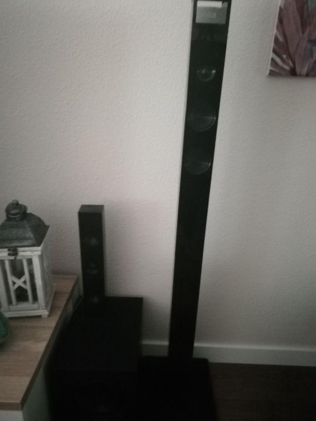 LG 3d cine en casa