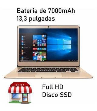 Ordenador portátil ligero 13,3 pulgadas Intel