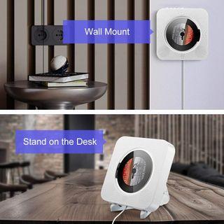 Reproductor de CD portátil o mural Bluetooth