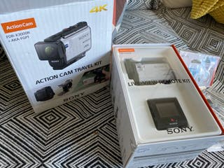 Videocámara Sport Sony FDR-X3000 4K UHD Kit