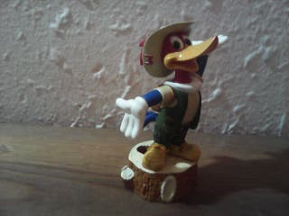figura pajaro loco woody woodpecker