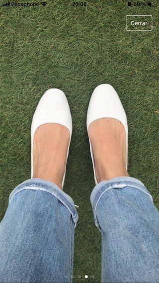 Zapatos tacón bajo PIEL T. 37