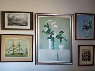 cuadros colección mural vintage