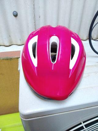 casco infantil de bicicleta