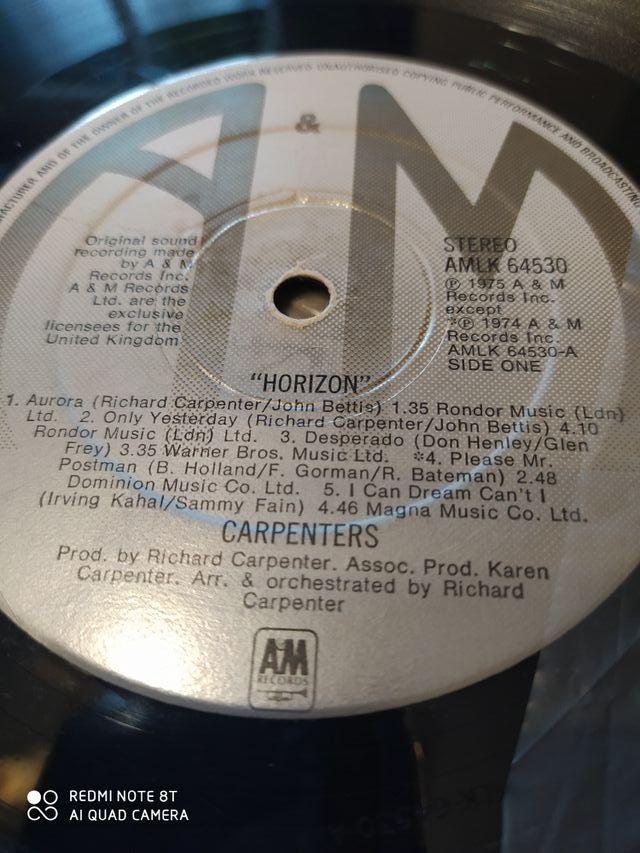Horizon Carpenters disco vinilo