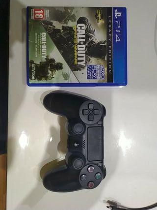 Juego PS4 y mando PS4 en buen estado todo