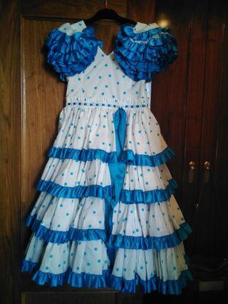 Vestido traje flamenca niña