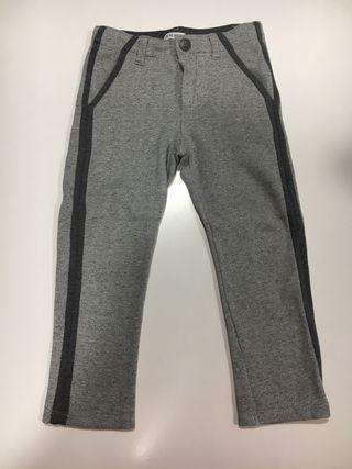 Pantalón T3 IKKS gris NUEVO