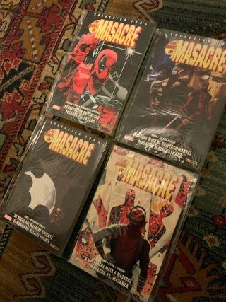 Pack cómics Las minis de Masacre / Deadpool 1-4