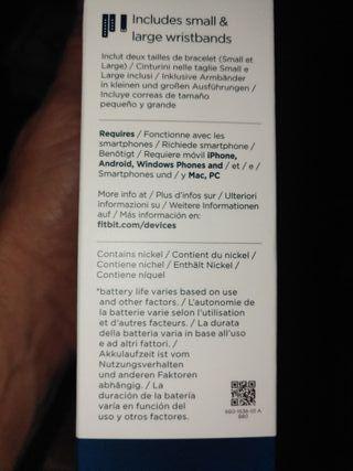 Pulsometro Fitbit Charge 3 Reloj-Pulsera ¡¡NUEVO!!