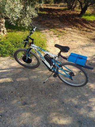 bicicleta eléctrica potente!!
