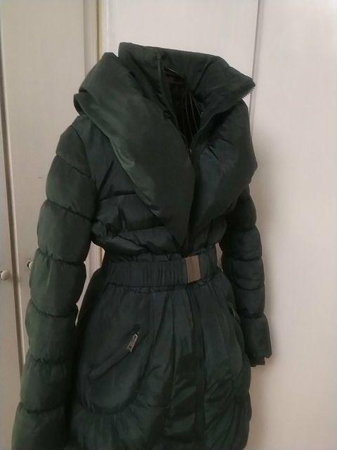 Abrigo tipo plumas