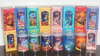 Colección completa 6 vasos clásicos Disney nuevos.