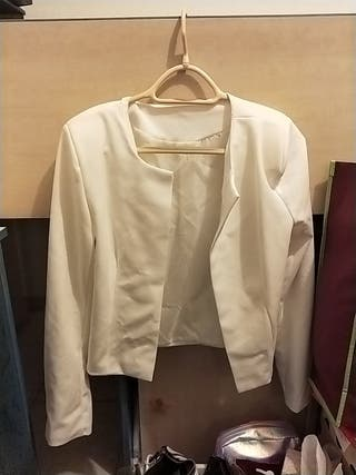 veste habillée blanche