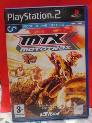 JUEGO PLAYSTATION 2. MTX MOTOTRAX