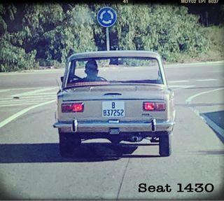 Clásico SEAT 1430 Primera Serie Año 1970