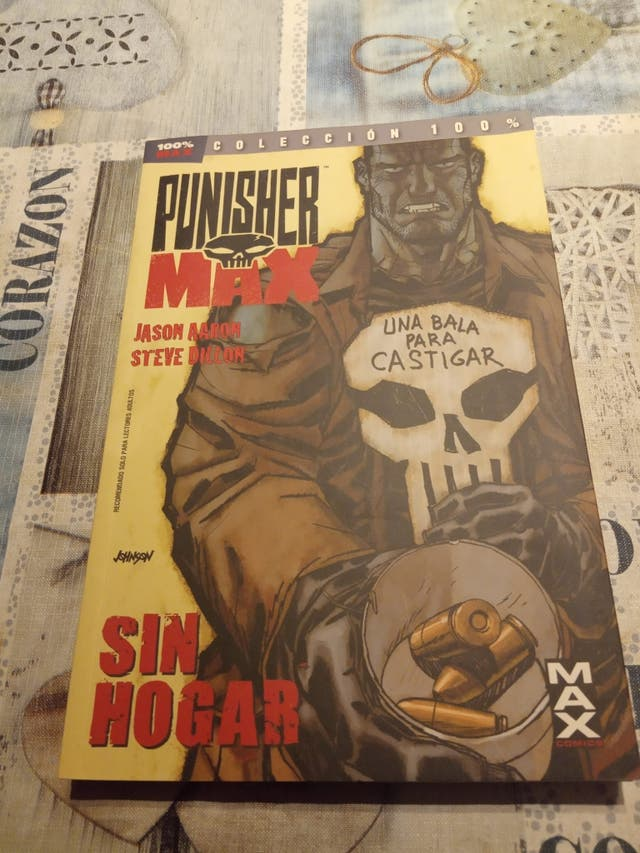 comics punisher max