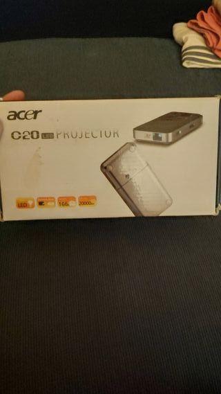 proyector led portátil Acer c20