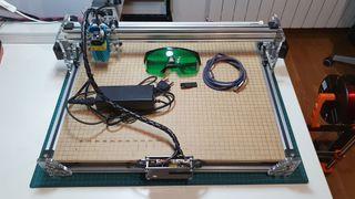 Grabador laser tamaño A3, 2500mw