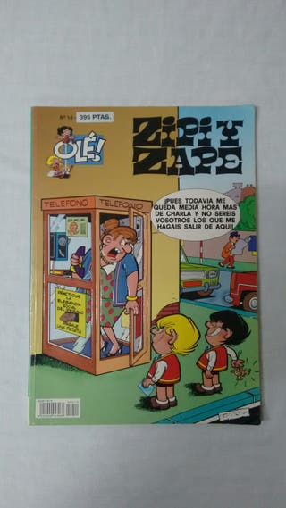 Cómic - Tebeo Zipi y Zape (Olé n° 14)