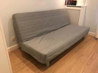 Sofa cama de 3 plazas + 2 fundas