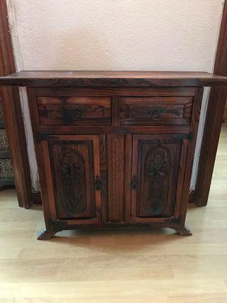 Mueble taquillon estilo castellano