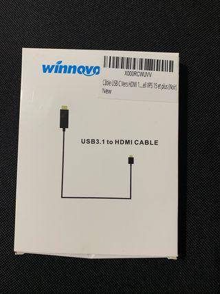 Cable usb-c 3.1 a HDMI de 1.5 metros