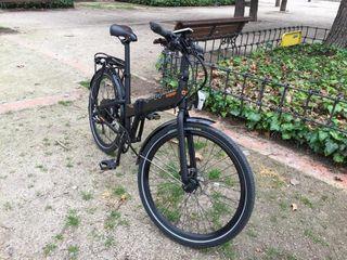 Bicicleta plegable eléctrica Quipplan