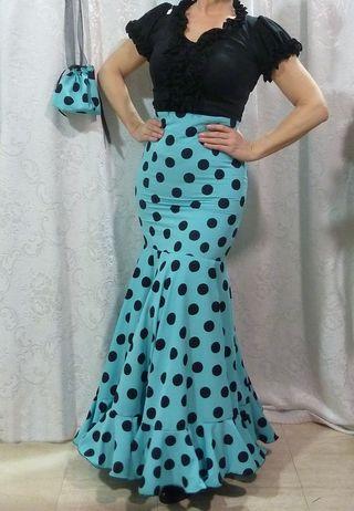 Falda Rociera talla 40