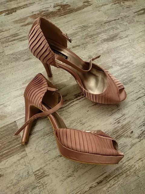 sandalias fiesta rosa palo victoria delef
