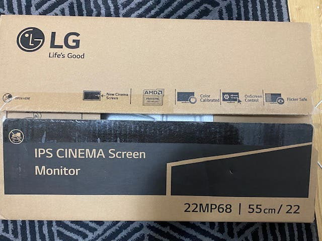 Monitor LG 21.5 LED IPS