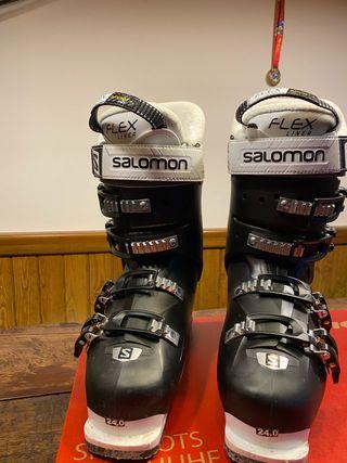 Bota esquiar Salomón