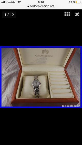 Reloj joya Cromwell de oro y brillantes