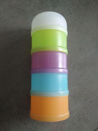 dosificador papilla cereales, leche en polvo bebe