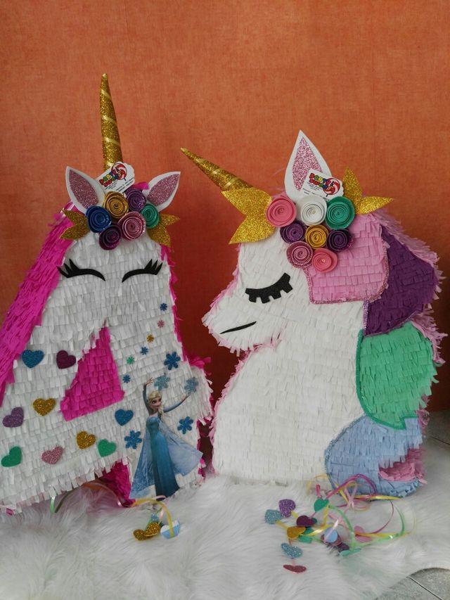 piñatas personalizadas de unicornio