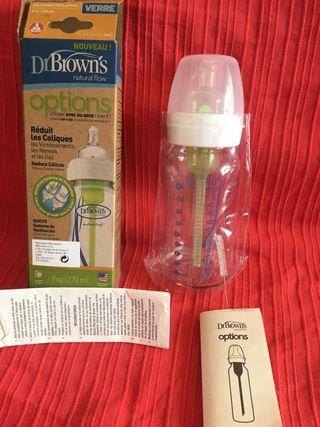 Biberón cristal Dr Brown's