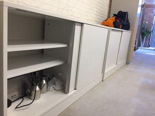 Muebles almacenaje color blanco