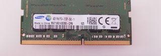 Memoria 4 GB, 1 x 4 GB, DDR4, 2133 MHz, 260