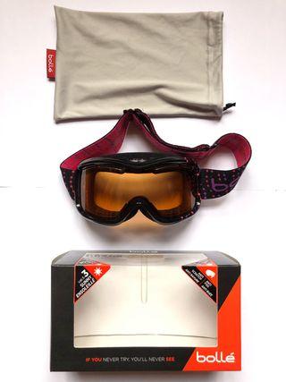 Mascara gafas esquí snow bollé
